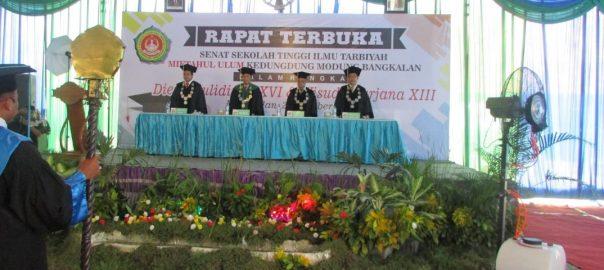 Ladang Pahala Di Dies Maulidiyah 16 dan wisuda sarjana 13 STIT-Mu