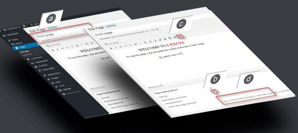 Step 4. Add Slider On Front Page