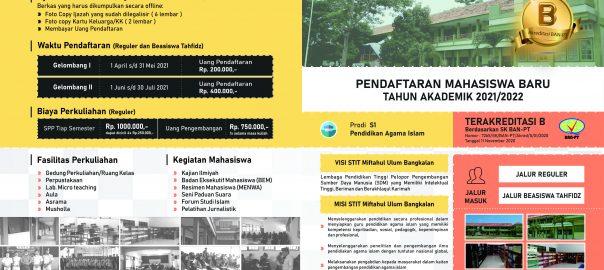Penerimaan Mahasiswa Baru (PMB) Sekolah Tinggi Ilmu Tarbiyah Miftahul Ulum (STITMU)